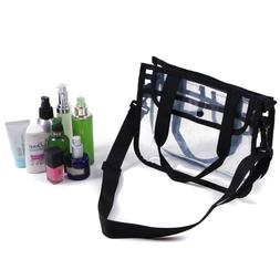 CoreLife Clear Tote Bag Small Shoulder Carrying Travel Purse