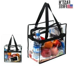 Clear Tote Bags Purse Transparent Plastic Handbags Approved