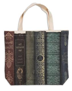 Victorian Trading Co Old Book Tote Bag Canvas ~ Jane Austen