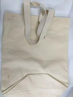 Cotton Tote Bag Natural  Shopping Shoulder Canvas Sturdy Gro