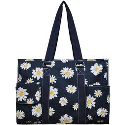 daisy large travel caddy organizer tote bag