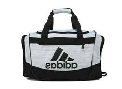 ADIDAS DEFENDER ||| SMALL DUFFEL BAG PURSE SPORTS TOTE WHITE