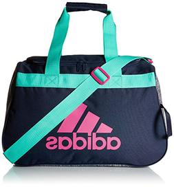 adidas Diablo Duffel Bag, Green/Bahia Magenta, One Size