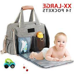 Diaper Bag Backpack Baby Diaper Bag Organizer Large Travel B