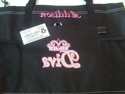 Diva Crown Personalized Tote Bag Jewelry Bag Paparazzi Bag
