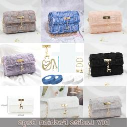 DIY Bag Accessories Set 7 Colour Ladies Fashion Handmade Tot