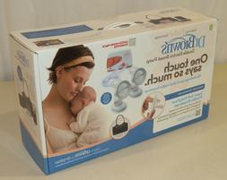 Dr. Brown's Double Electric Breast Pump with tote bag - NEW,