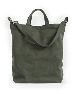 BAGGU Duck Bag Canvas Tote, Essential Everyday Tote, Spaciou