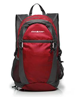 NeatPack Durable, Foldable Nylon Backpack/Daypack with Secur