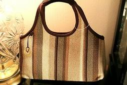 THE SAK  EARTH WOMEN'S TOTE  BAG PURSE MULTI-COLOR NWOT