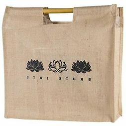 Eco-friendly Reusable Grocery Bags Bamboo Handle Tote  Kitch