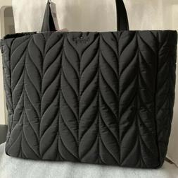 Kate Spade Ellie Rima Large Quilted Nylon Laptop Tech Tote B