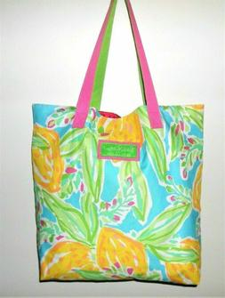 Estee Lauder Lilly Pulitzer Print Large Canvas Beach / Tote