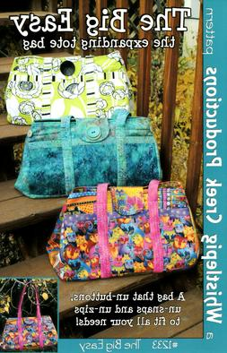 Expanding Tote Bag The Big Easy Sewing Pattern Whistlepig Cr