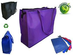 "20"" Extra Large Recycled Eco Friendly Grocery Shopping Tote"
