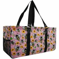 NGIL Extra Large Utility Tote Bag Collapsible Pool Beach Can