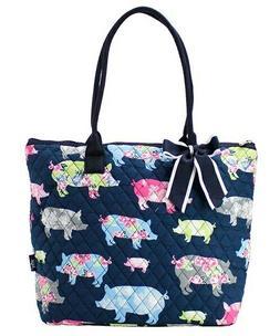 NGIL Super Cute Piggy Tote Bag-Monogram Included
