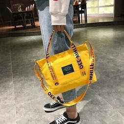 Fashion Ladies Large Tote Handbag Casual Women's Canva Padlo