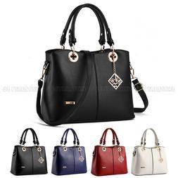 Fashion Leather Women Handbag Shoulder Bags Lady Tote Purse