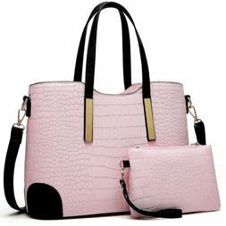 Fashion Satchel Bags Shoulder Purses Top Handle Work Bags Wo