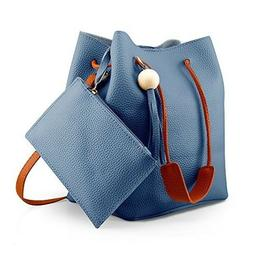 Oct17 Fashion Tassel buckets Tote Handbag, Women Messenger H