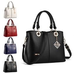 Fashion Women Tote Shoulder Bags Leather Handbag Lady Purse