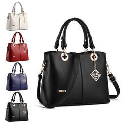 Fashion Women Tote Shoulder Bags Leather Handbag Lady Purse