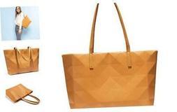Fashion Womens Purses and Handbags, Matte Geometric Leather