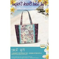 Fiji Tote Bag Pattern by Pink Sand Beach Designs