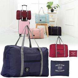 Foldable Handle Bag Waterproof Travel Storage Luggage Tote B