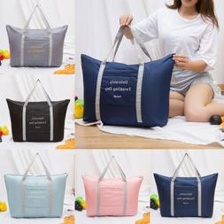 Travel Foldable Large Duffel Bag Luggage Storage Waterproof