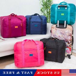 Foldable Large Duffel Bag Luggage Storage Waterproof Travel