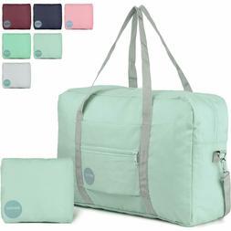 Wandf Foldable Travel Duffel Bag Luggage Sports Gym Water Re