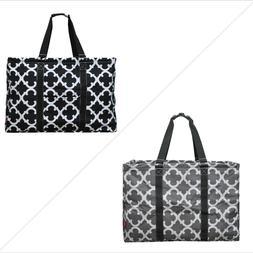 Geometric Clover NGIL® Mega Shopping Utility Tote Bag