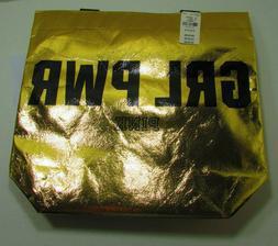 "Victoria Secret GRL PWR PINK 12""X13"" Tote Bag Reusable"
