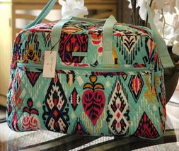 $149 VERA BRADLEY GRAND TRAVELER BAG PUEBLO Travel Large Duf
