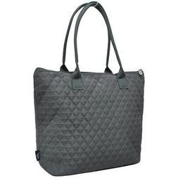 Gray NGIL® Quilted Tote Bag