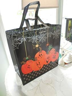 ❤️ HALLOWEEN pumpkins spiders webs Reusable CHIC Shoppin