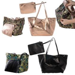 Steve Madden Handbags For Women Tote Bag Reversible with Zip