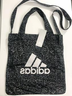 Adidas Hands Free Bag Messenger Crossbody Bag Black Gray  Ne