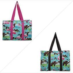 Happy Camper NGIL® Large Travel Caddy Organizer Tote Bag