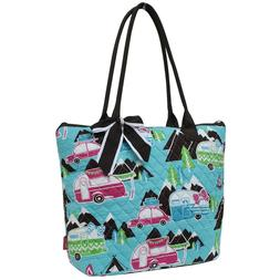 Happy Camper NGIL® Quilted Tote Bag