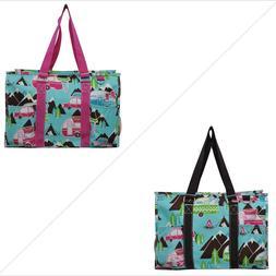 Happy Camper NGIL® Zippered Caddy Organizer Tote Bag