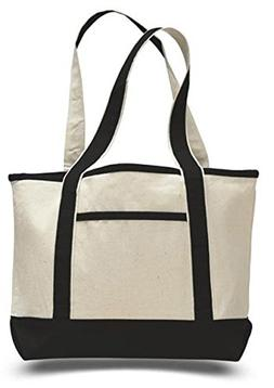 Heavy Canvas Deluxe Tote Bag Medium Size Boat Tote Bag 12oz.