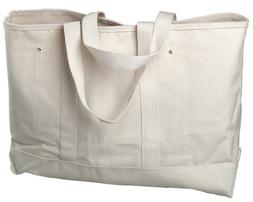 Bon 11-130 Heavy Duty Canvas Tote Bag 28-Inch Long by 6-Inch