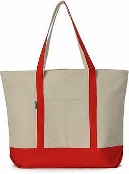heavy duty cotton canvas tote bag