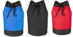 Heavy Duty Drawstring Tote Bag Hamper Laundry Bag Gym Sports