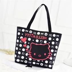 Hello Kitty Hand Bag Tote Bag For Girls Or Women School Bag