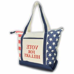 Hillary Clinton Tote Bag Shopping Tote Vote Democratic Suppo