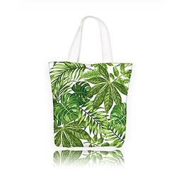 Jiahonghome Honor Canvas Tote Bag Seamless exotic pattern wi